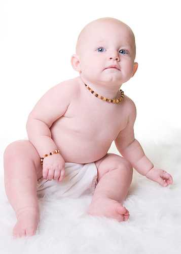 Natural Baltic Amber Teething Necklace & Bracelets