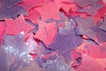 Blackberry Stars Confetti