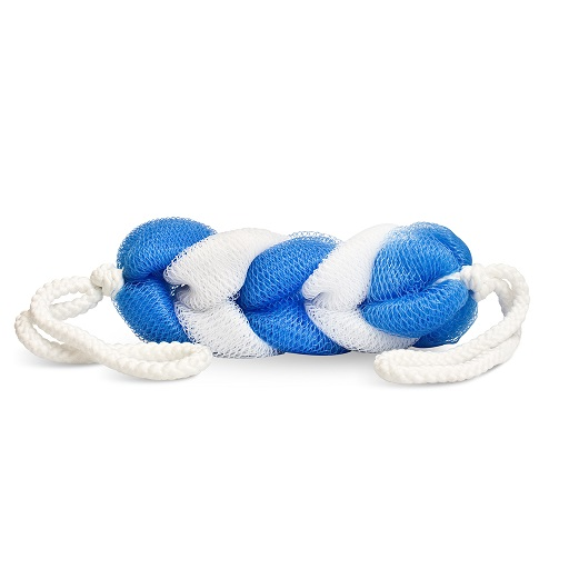 Braided Bath Stretch Scrubbies