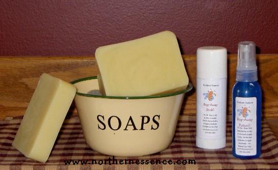 Bug Away All Natural Bar Soap