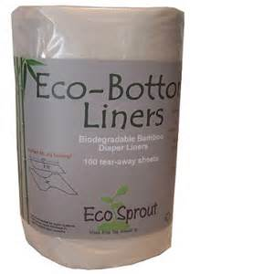 Eco Bottom Bamboo Disposable Liners