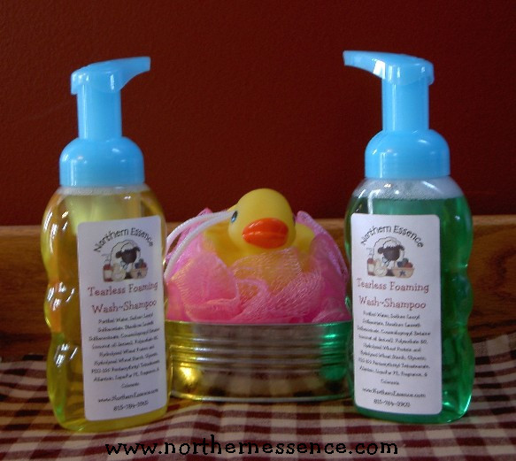 Tearless Foaming Wash/Shampoo