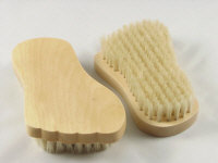Wood Foot Scrubbers