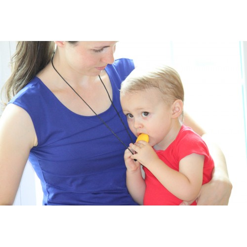 Siliconies Teething Egg Pendant Necklaces