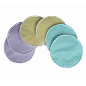 WolbyBug Stay-Dry Bamboo Nursing Pads
