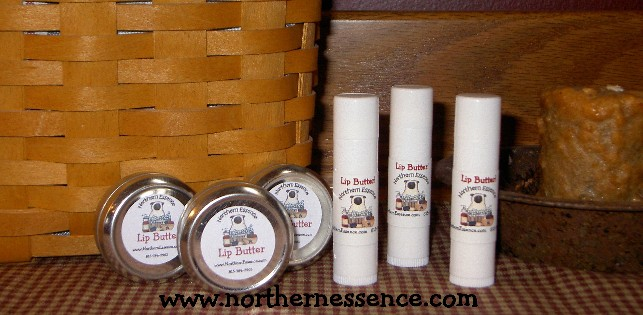 All Natural Lip Butter