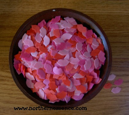 Watermelon Lips Bath Confetti