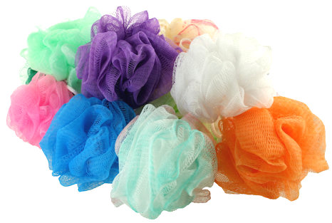 Mini Bath Scrubbies