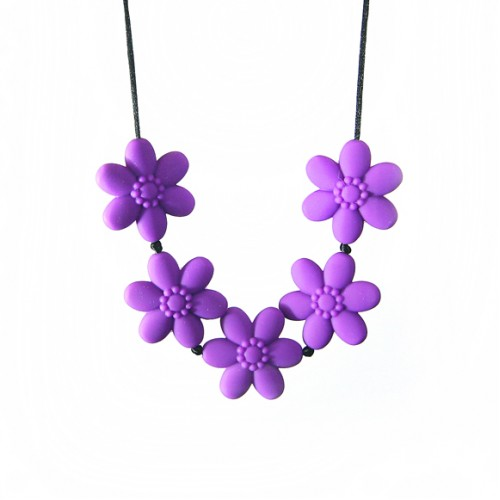 Siliconies Flower Teething Necklaces