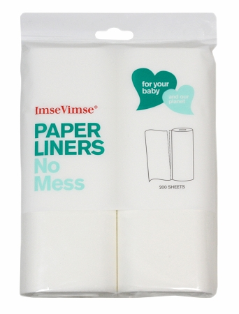 Imse Vimse Bio-Liners - 200 Sheets